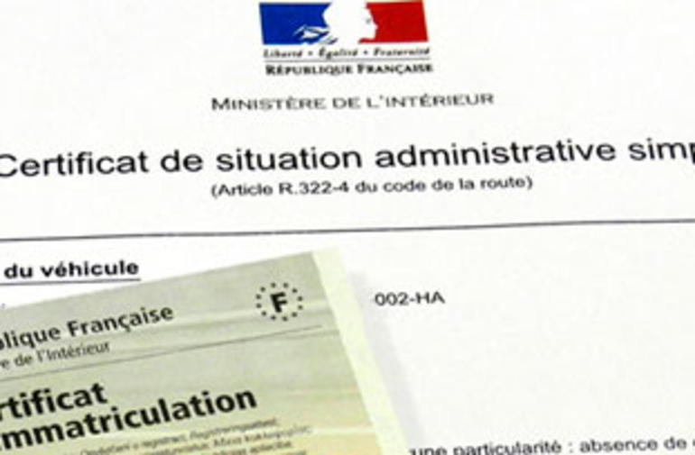 situation administrative certificat